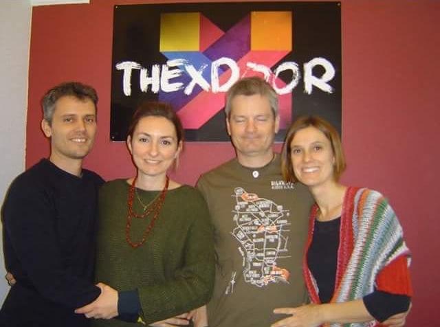 1- White & Black – The X-Door – Lleida
