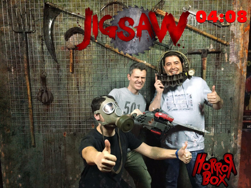 10 Jigsaw Horror Box Barcelona Ranking Room Escape