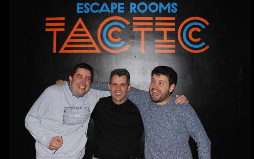 12- La Casa Parormal – Tactic Escape Room – Barcelona