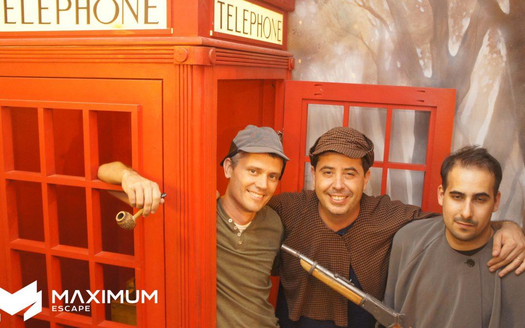 45 – Sherlock Holmes contra el Diablo Londinense – Barcelona